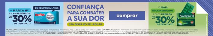 Mini Banner Analgésicos Sanofi