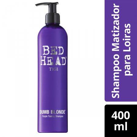 BED HEAD SHAMPOO DUMB BLOND PURP TON 400ML