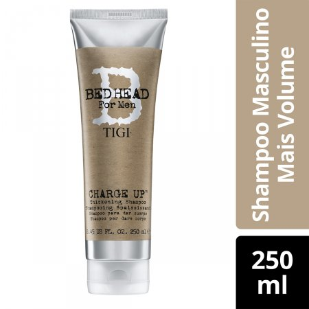 BED HEAD MEN SHAMPOO CHARGE UP THICK  250ML