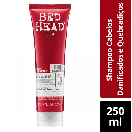 BED HEAD SHAMPOO RESURRECTION 250ML