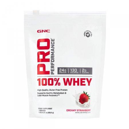 100% Whey GNC Pro Performance Sabor Morango 405.6g | Drogasil.com