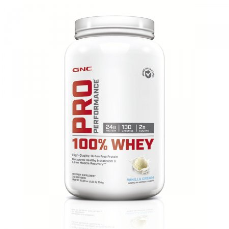 100% Whey GNC Pro Performance Sabor Vanilla Cream 850g | Drogasil.com