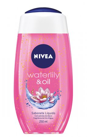 Sabonete Líquido Nivea Waterlily & Oil
