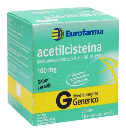 Acetilcisteína 100mg