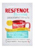 Chá Antigripal Resfenol Thermus Sabor Mel e Limão com 1 unidade de 5g
