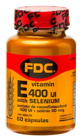 Vitamina E 400UI + Selênio 50mcg