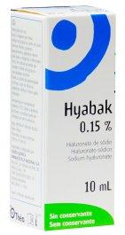 Colírio Hyabak com 10ml