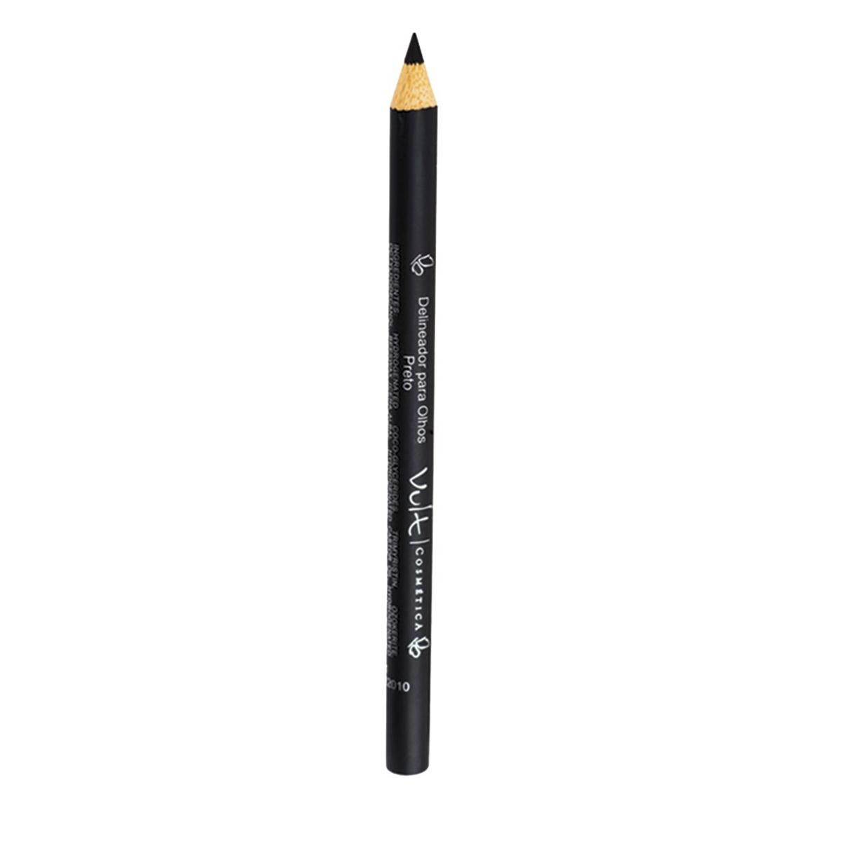 Lápis para Olhos Preto Vult 1 Unidade