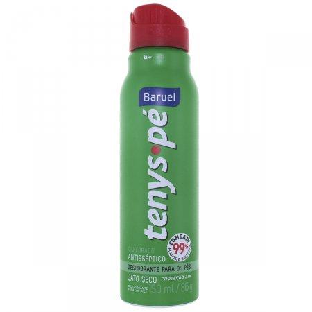 Desodorante para os pés Jato Seco Tenys Pé Canforado