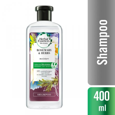 Shampoo Herbal Essences Bio:Renew Alecrim e Ervas