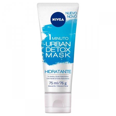 Máscara Facial 1 Minuto Urban Detox Nivea Hidratante