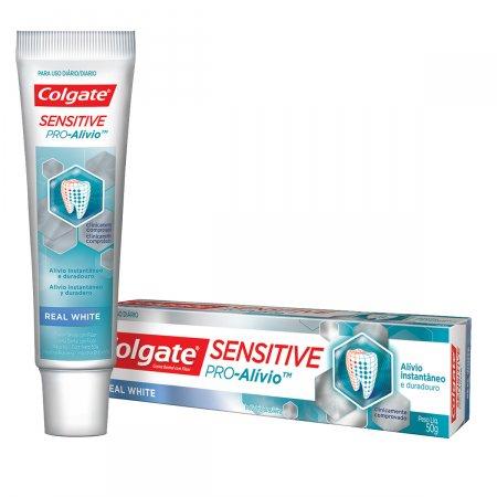 Creme Dental Colgate Sensitive Pro-Alívio Real White