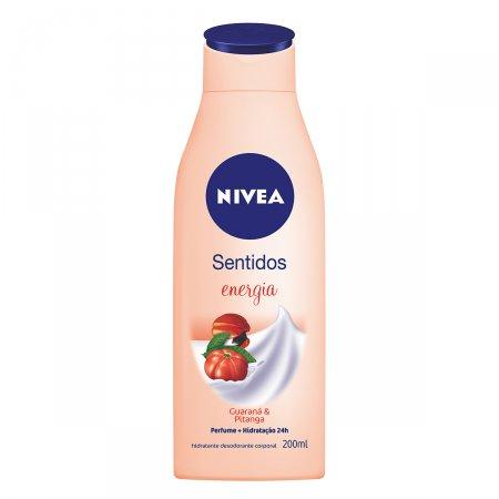Hidratante Desodorante Nivea Sentidos Energy