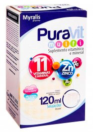 Suplemento Vitamínico-Mineral Puravit Multi Solução Oral com 120ml