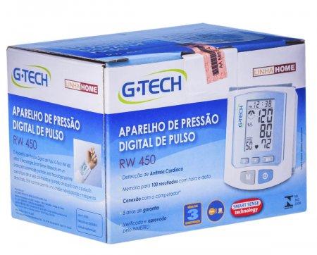 G-TECH MONITOR DE PRESSÃO AUTOMATICO PULSO MODELO RW450