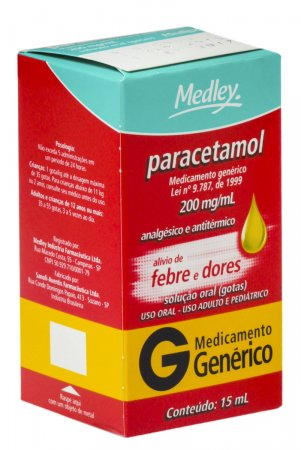 PARACETAMOL 200 MG MEDLEY GENERICO GOTAS 15 ML