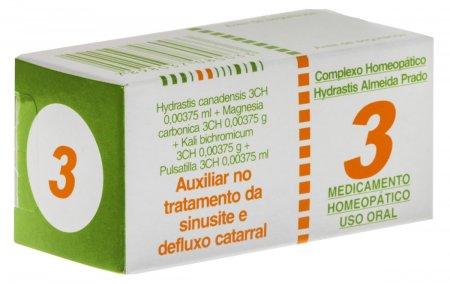 Complexo Homeopático Hydrastis N° 3
