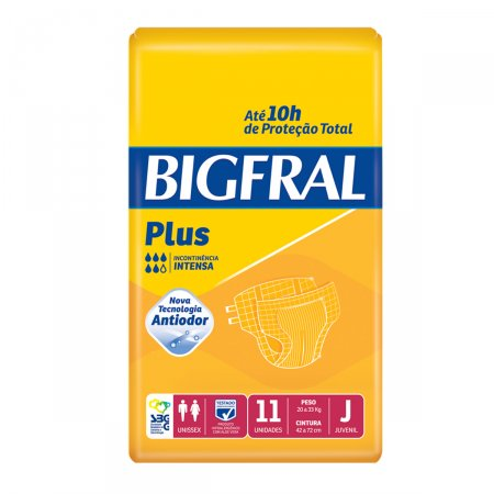 Fralda Geriátrica Juvenil Bigfral Plus