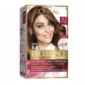 Coloração Imédia Excellence Creme N°6.7 Chocolate Puro
