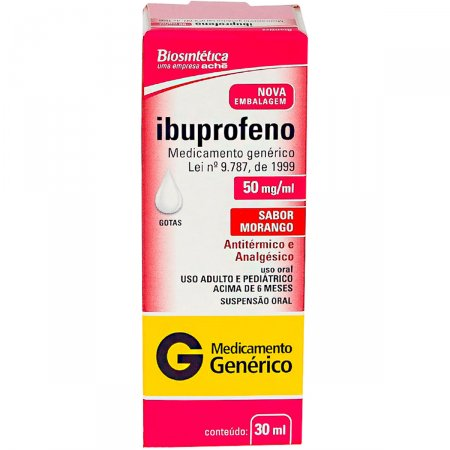 Ibuprofeno 50mg/ml