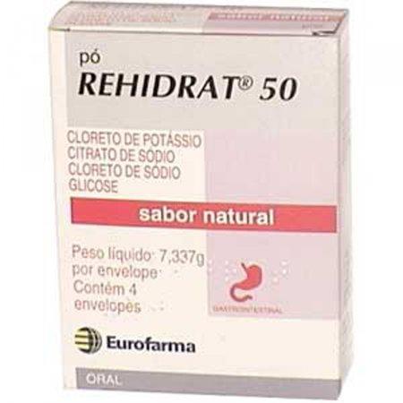 REHIDRAT 50 50 MG ENVELOPE 4X7,337 G