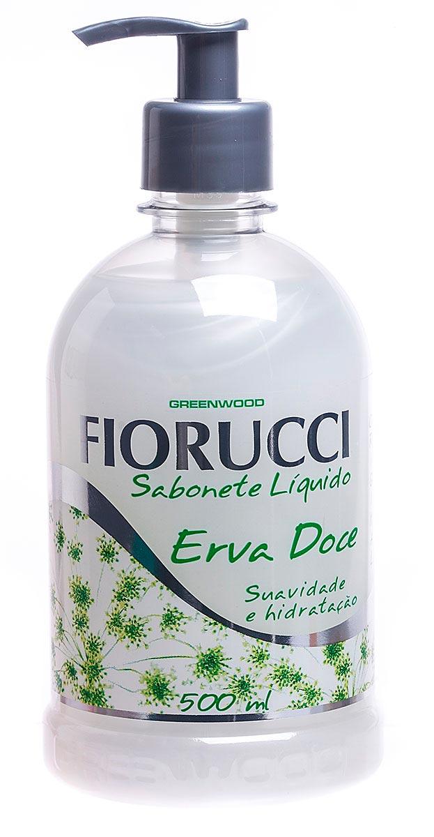 Sabonete Líquido Erva Doce Fiorucci 500ml