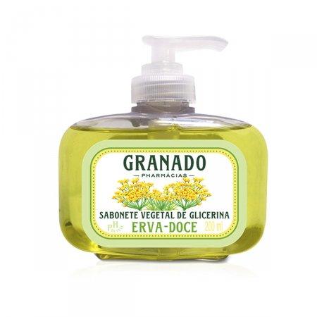 Sabonete Líquido Granado Erva Doce
