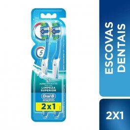 Escova de Dente Oral-B Complete 5 Ações de Limpeza Macia N°40 com 2 unidades