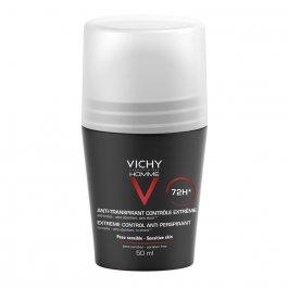 Desodorante Antitranspirante Roll-On Vichy Homme Controle Extremo 72h Masculino com 50ml
