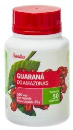 Guaraná do Amazonas Sanitas com 50 cápsulas