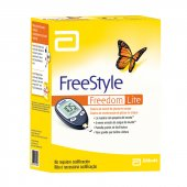 FREESTYLE FREEDOM LITE KIT MONITOR DE GLICEMIA