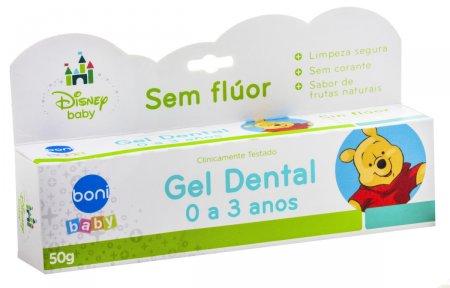 Gel Dental Infantil Boni Baby Disney Pooh Sem Fluor