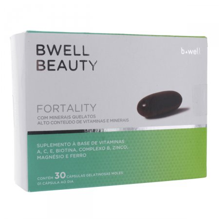 B-WELL BEAUTY FORTALITY 30 CAPSULAS