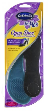 Palmilhas Dr. Scholl's Open Shoe Massaging Gel