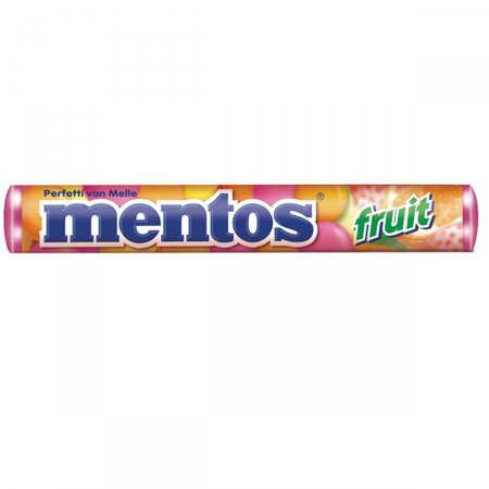MENTOS BALA STICK FRUIT 38G