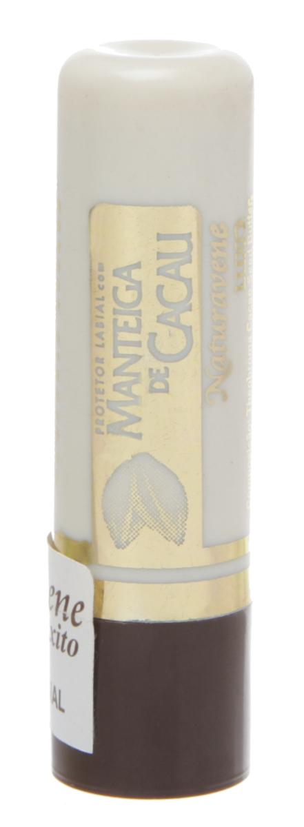 Protetor Labial Manteiga de Cacau Luxo Naturavene 1 Unidade