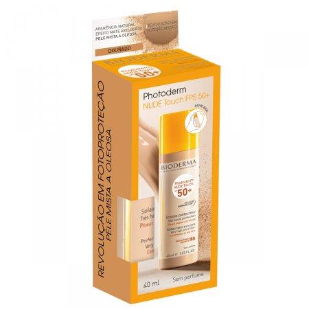 Protetor Solar Photoderm Nude Touch FPS50+ Cor Dourado