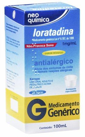 Loratadina 1mg