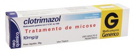 Clotrimazol 10mg