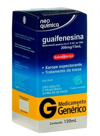 Guaifenesina 13,3mg/ml