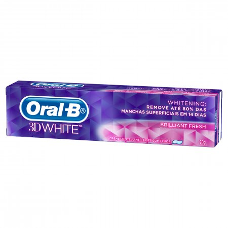 Creme Dental Oral B 3D White Brilliant Fresh