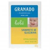 Sabonete de Glicerina em Barra Granado Bebê Tradicional com 90g