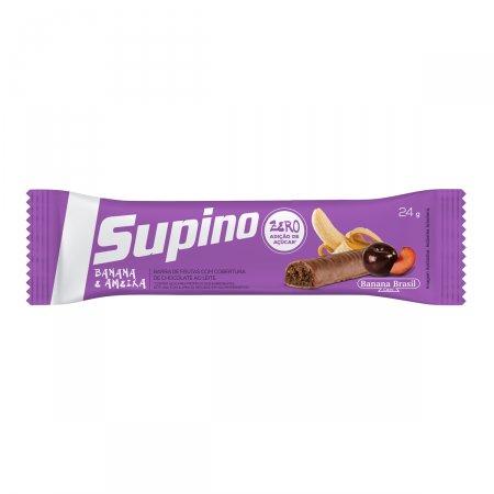 SUPINO LIGHT CHOCOLATE COM AMEIXA 1 UNIDADE COM 24G