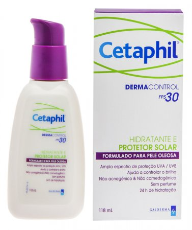 Hidratante e Protetor Solar Cetaphil Dermacontrol FPS30