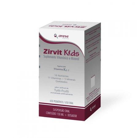 ZIRVIT KIDS SUPLEMENTO VITAMINICO E MINERAL 150 ML