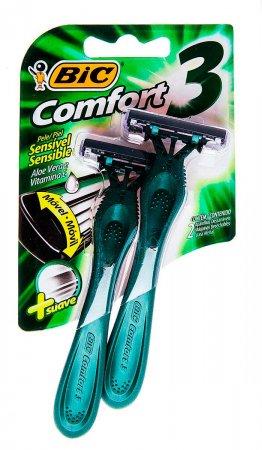 Barbeador Descartável Comfort3 Pele Sensível