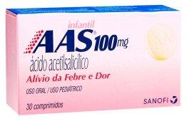 AAS Infantil 100mg com 30 comprimidos