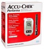 Kit Monitor Accu-Chek Performa Glicose