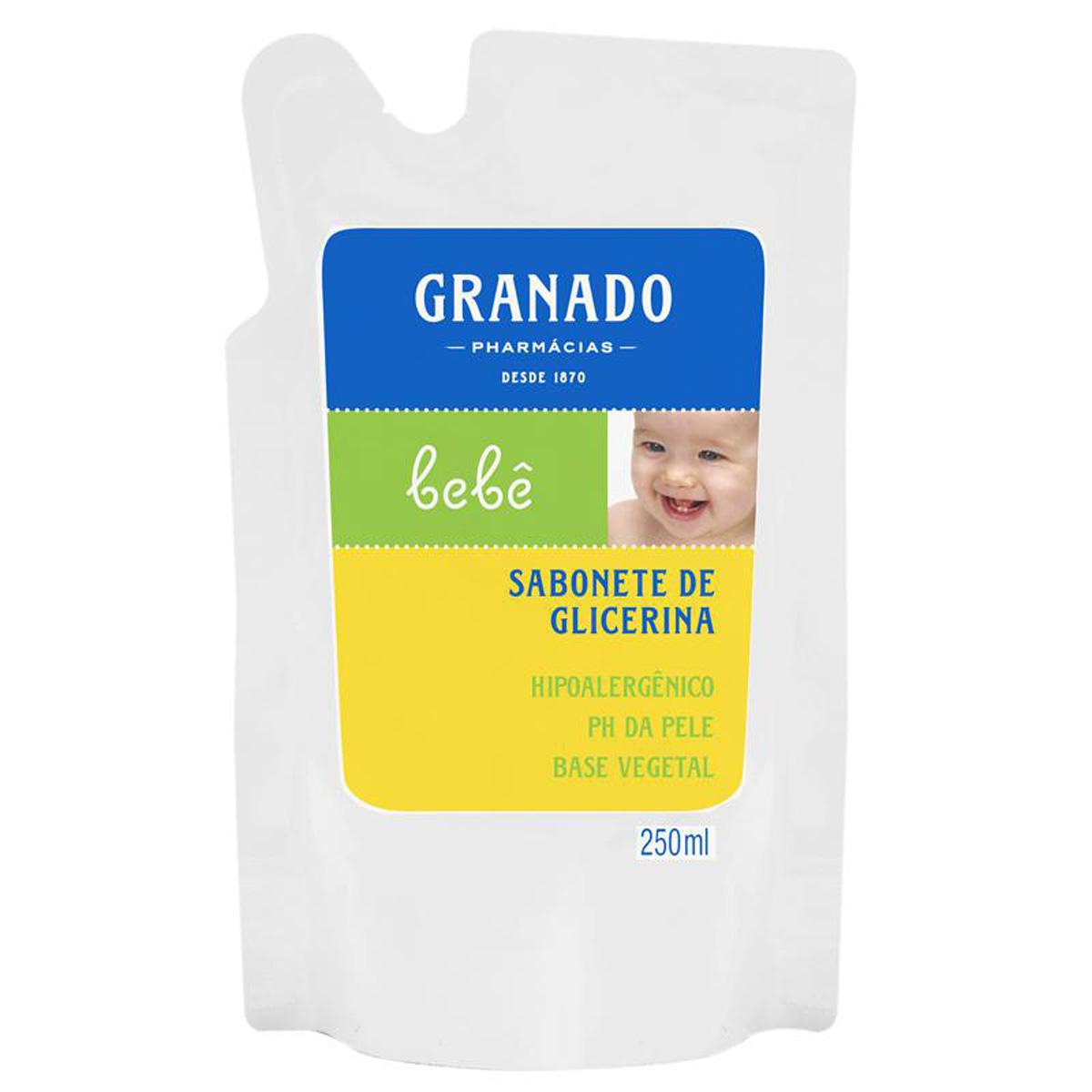 Refil Sabonete Líquido Granado Bebê Tradicional com 250ml 250ml