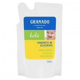 Refil Sabonete Líquido Granado Bebê Tradicional com 250ml